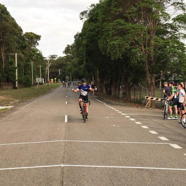 Rowan Lean of SUVelo takes a convincing solo victory inhellip