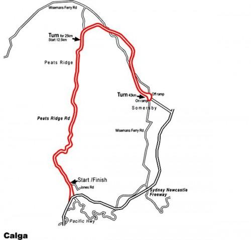 Calga Map