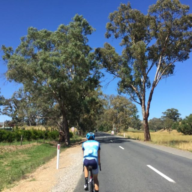 And so the TDU riding begins Radelaide kms for dayshellip