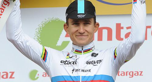 Tour de France 2015 - 16/07/2015 - 12eme Etape - Lannemezan / Plateau de Beille - 195Km - Michal KWIATKOWSKI (EQS), Prix de la Combativite