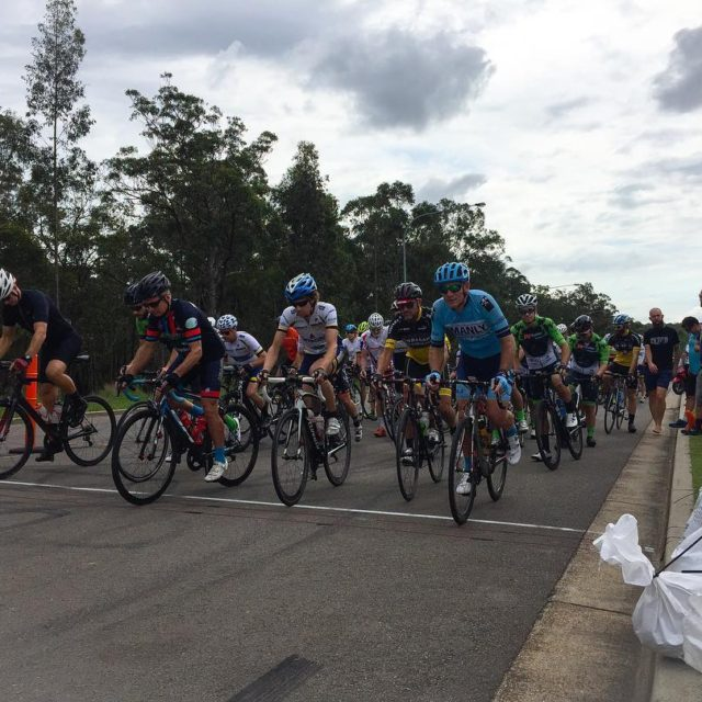 The Div 4 riders roll out at the Hunter Districthellip