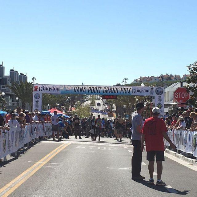 Start line of the Dana Point Grand Prix Crit Racehellip
