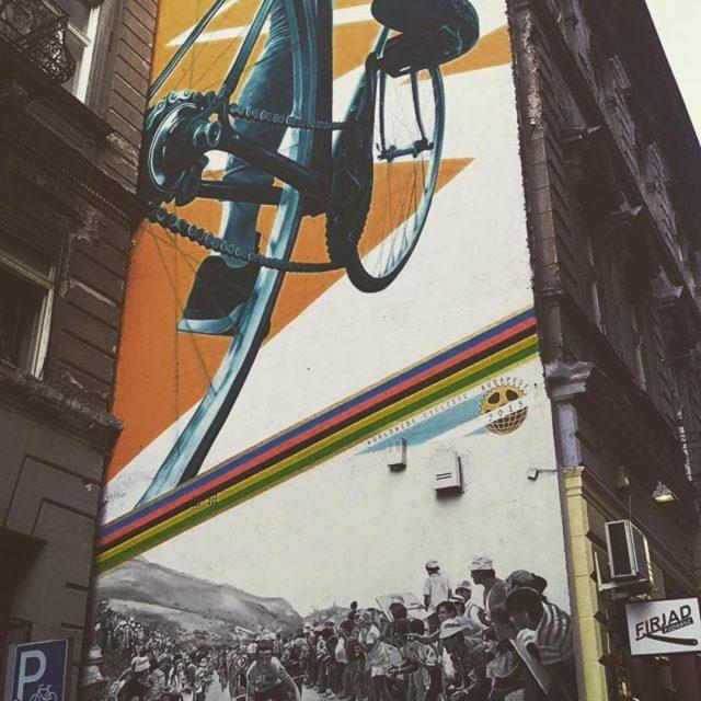 Euro street Art Long live cycling    hellip